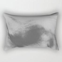 black and white lava flow Rectangular Pillow