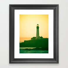 Lighthouse (2) Framed Art Print