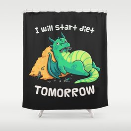 Tomorrow is Shower Curtain