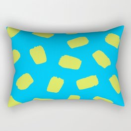 Sunny Day Brushstrokes Rectangular Pillow