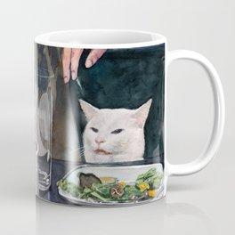 Woman Yelling at Cat Meme-3 Coffee Mug