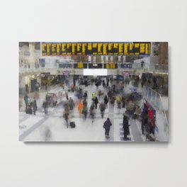 Liverpool Street Station London art Metal Print