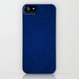 Sapphire Blue Sparkling Jewels Pattern iPhone Case