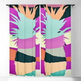Sliced Abstract Ananas Blackout Curtain