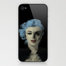 Screwed and Tattooed, Rockabilly Marilyn.  iPhone & iPod Skin