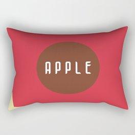 Apple Bites Rectangular Pillow