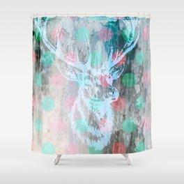 DEER + KARLA Shower Curtain