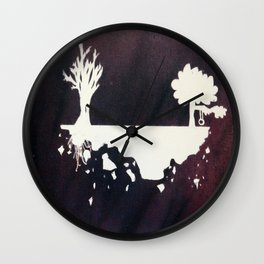 Space Trees. Wall Clock
