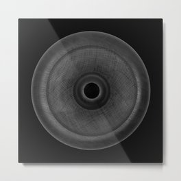 Demi-Stock Black Piece 3 Metal Print