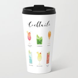 Coktails Travel Mug