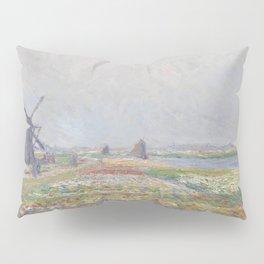 Tulip Fields near The Hague Pillow Sham