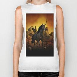 The Dark Unicorn Biker Tank