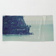 Adventure Island Beach Towel