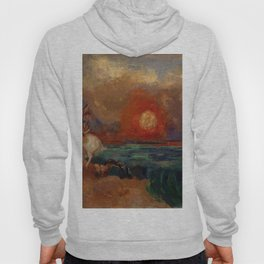 "Odilon Redon ""Saint George and the Dragon (Saint Georges et le dragon)"" Hoody"