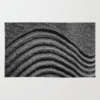 zen Area & Throw Rugs featuring Zen by Chee Sim