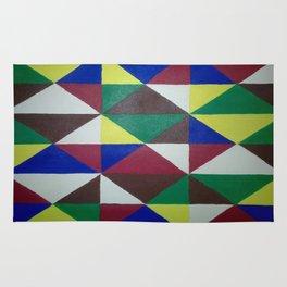Geometric Triangles Rug