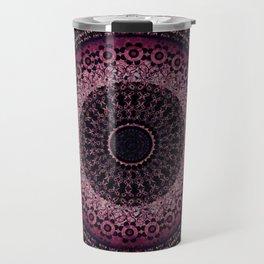 Rosewater Tapestry Mandala Travel Mug