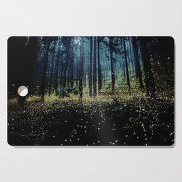 Twilight Fireflies Cutting Board
