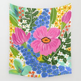 Delphinium Party Wall Tapestry