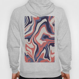 Retro liquid marble Hoody