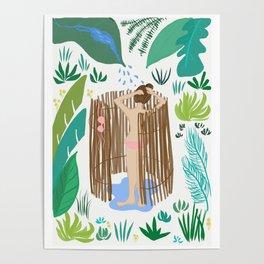 Outdoor Shower Poster