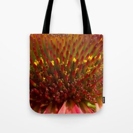 Cone flower colors Tote Bag