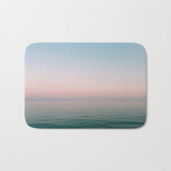 Pastel Ocean III Bath Mat