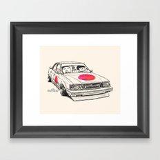 Crazy Car Art 0172 Framed Art Print