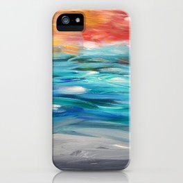 Seascape #5 iPhone Case