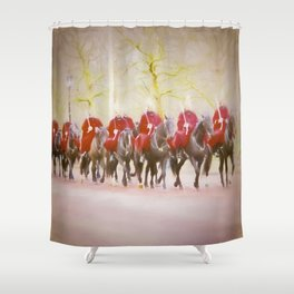 London Protected Shower Curtain