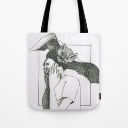 Bat Attack Tote Bag