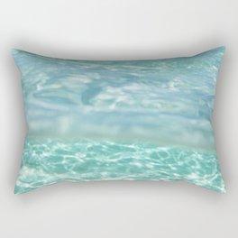 ocean waters Rectangular Pillow