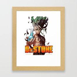 Dr. STONE SENKU Framed Art Print