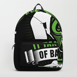 It Takes A Lot Of Balls Golfers Golf Backpack