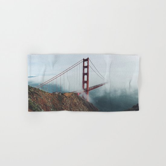 California Bridge photo Hand & Bath Towel