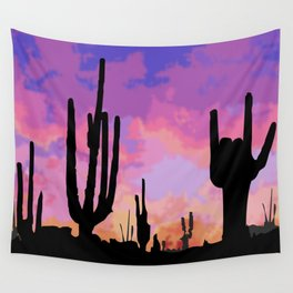 Signs seen in the Desert  Wall Tapestry