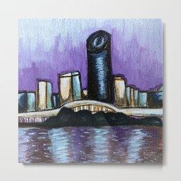 Brisbane City River Metal Print