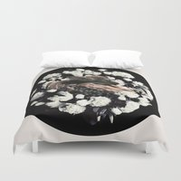 bambi Duvet Covers featuring Bambi by ARTQ