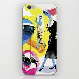 Sloth life iPhone Skin