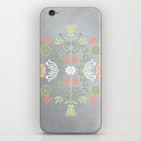 folk iPhone & iPod Skins featuring Folk by Marta Olga Klara