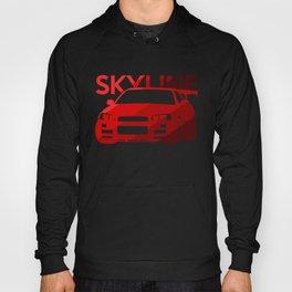 Nissan Skyline GT-R  - classic red - Hoody