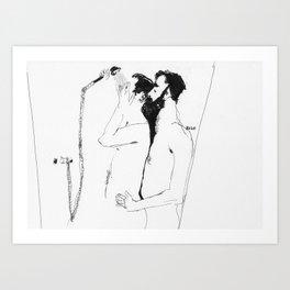 showerhead Art Print