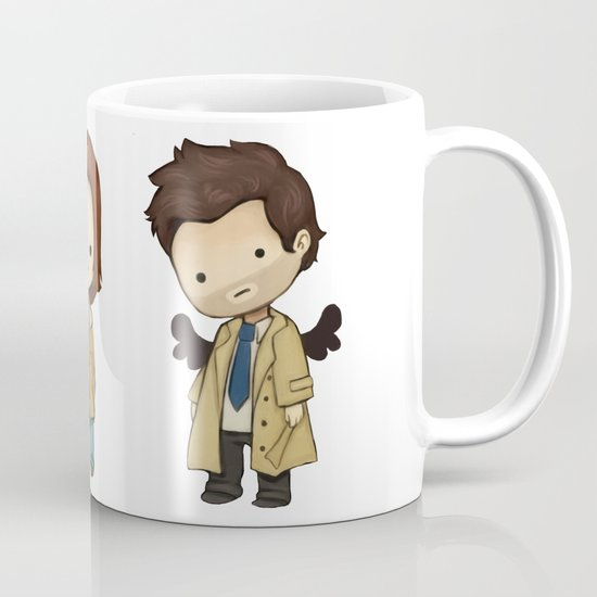 Chibi Dean Sam Castiel Supernatural by kamfox