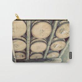Kentucky Bourbon Barrels Color Photo Carry-All Pouch