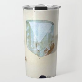 The Mineral Kingdom by Dr. Reinhard Brauns, 1903. Germany. Beautiful Gems Mineral Jewels Travel Mug