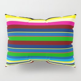 Crazy Stripes #3 Pillow Sham