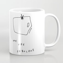 Words from Tomatoes - food vegetable illustration Coffee Mug