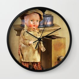 Coffee man Wall Clock