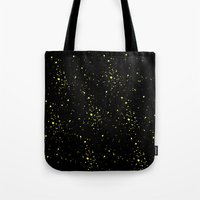 starry night Tote Bags featuring Starry night by haroulita