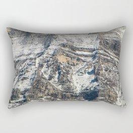 Mountain texture Rectangular Pillow